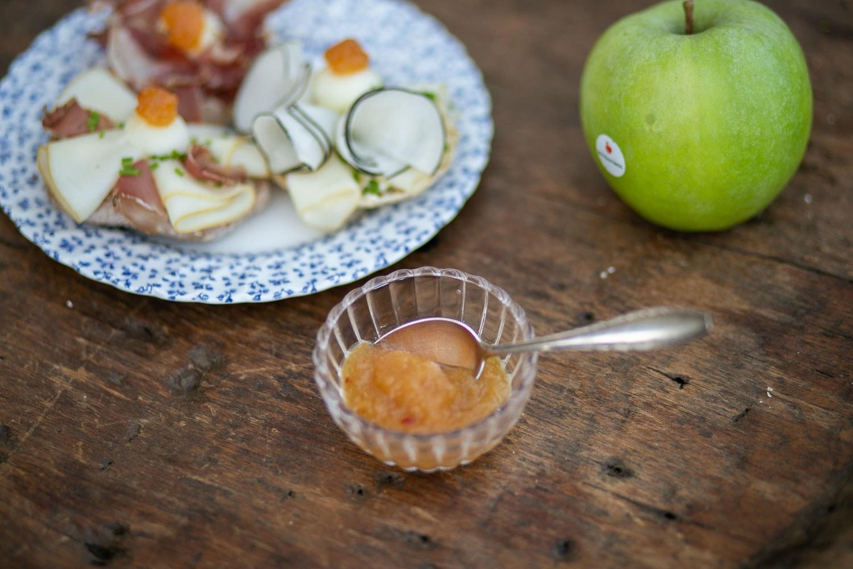 Bio-Bäuerin Carmen serviert: Apfel-Chutney