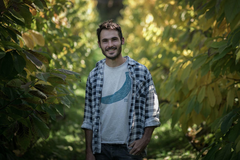 Bio-Bauer Simon Werth