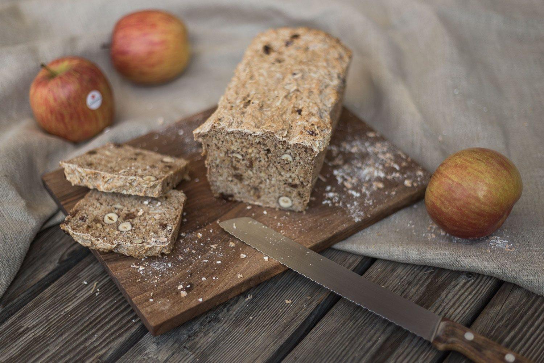 Biosuedtirol Rezept Apfel Nuss Brot 1