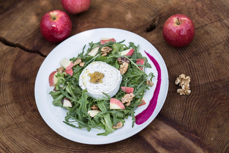 Biosuedtirol Rezept Apfel Ziegenkaese Salat 1